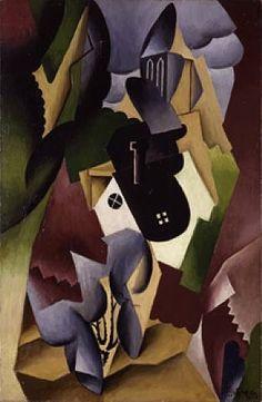 """""""Paysage cubiste, Le Village""""  Jean Metzinger (French, 1883–1956) 1917 huile sur toile"""