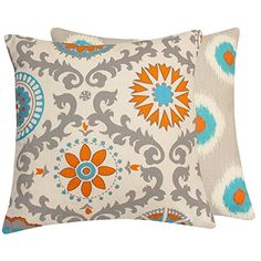 Chloe & Olive Pinwheel Collection Floral Pinwheel and Polka Dot Toss Pillow Cover, 20-Inch, Orange Chloe & Olive http://www.amazon.com/dp/B00N989G8M/ref=cm_sw_r_pi_dp_y3HCvb0H24HCJ
