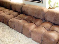 Mario Bellini Camaleonda 8 pc modular sofa