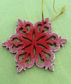 "Елочная игрушка ""Снежинка"". Мой декор. :) Crochet Earrings, Jewelry, Art, Fashion, Jewellery Making, Craft Art, Moda, Jewelery, Jewlery"