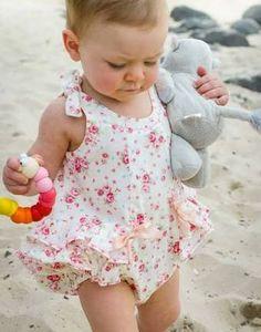 baby romper pattern free - Google Search