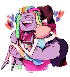 It's Okay, i'm here. I love you.