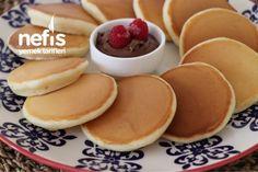 Golden Pancake Recipe (Squishy) - Delicious Recipes potato al horno asadas fritas recetas diet diet plan diet recipes recipes Diet Recipes, Dessert Recipes, Cooking Recipes, Desserts, Waffles, Pancakes, Finger Foods, Meal Planning, Yummy Food