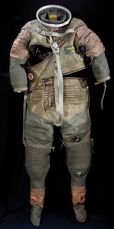 A prototype suit from the late 1950s.