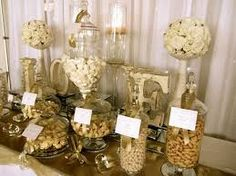 black gold candy buffet - Google Search