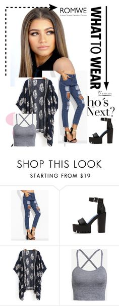 """""""Romwe #2"""" by amina-haskic ❤ liked on Polyvore featuring vintage and romwe"""