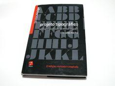 Projeto tipográfico – análise e produção de fontes digitais.