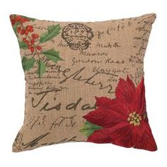Holly Pillow