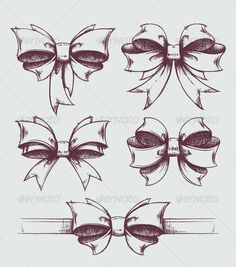 Bow Tattoos on Pinterest | Tattoos Girly Tattoos and Lace Bow Tattoos