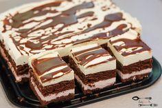 ciasto z polewą czekoladową Quiche, Tasty Videos, Healthy Breakfast Smoothies, Sweets Cake, Polish Recipes, Homemade Cakes, Food Cakes, Christmas Baking, Pain