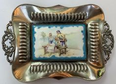 Vanity Tray, Antiques For Sale, Calling Cards, Rococo, Porcelain, Plate, Ebay, Porcelain Ceramics, Dishes