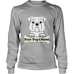 Personalized #Bulldog T Shirt Grandpa Grandma Dad Mom Girl Boy Guy Lady Men Women Man Woman Dog Lover, Order HERE ==> https://www.sunfrog.com/Pets/127519881-784591741.html?89700, Please tag & share with your friends who would love it, #renegadelife #superbowl #christmasgifts