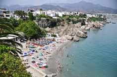 Nerja Calahonda beach, Costa del Sol, Spain