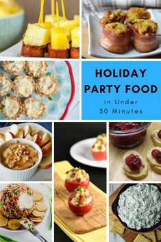 Holiday Party Food i