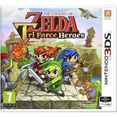 The Legend Of Zelda Triforce Heroes 3DS Game The Legend Of Zelda Tri Force Heroes 3DS In the visual style of the critically-acclaimed The Legend of Zelda A Link Between Worlds game comes a new adventure In this journey three players team upndas http://www.MightGet.com/january-2017-13/the-legend-of-zelda-triforce-heroes-3ds-game.asp