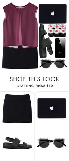 """""""They think that this thing is a highway..."""" by this-side-of-paradise ❤ liked on Polyvore featuring Uniqlo, Senso and Retrò"""