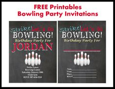 30 best bowling party themes images on pinterest bowling party