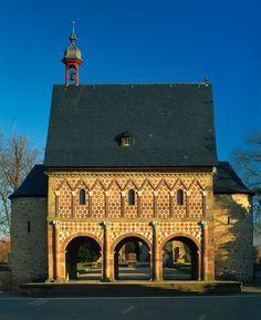 UNESCO-Welterbe Das Kloster Lorsch #welterbe #reise #inspiration #jugendherberge #hessen #kultur