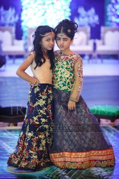Pakistani Wedding in Lahore, Pakistan Pakistani Outfits, Indian Outfits, Indian Dresses, Little Girl Dresses, Girls Dresses, Baby Dresses, Dresses 2016, Wedding Dresses, Kids Dress Collection