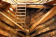 Holz, Holz, Holz - die Hansekogge von innen