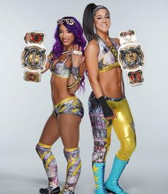 See the first gallery of Sasha Banks & Bayley as WWE Women's Tag Team Champions. Wwe Pictures, Wwe Photos, Wrestling Divas, Women's Wrestling, Wwe Women's Championship, Wwe Sasha Banks, Wwe Female Wrestlers, Wwe Girls, Wwe Tna