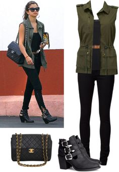 """Selena Gomez style"" by blondethinking on Polyvore"