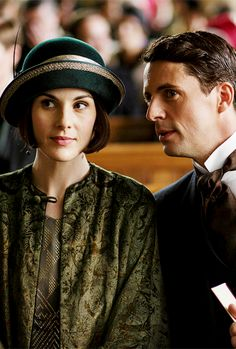 You Had Me at Downton  ..Lady Mary & Henry Talbot, Downton Abbey S6 Christmas Special..
