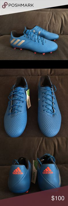 best loved 1812d e1100 Adidas Messi 16.3 FG Soccer cleats blue men size 7 Brand new Adidas Messi  cleats!