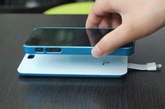 iPhone 5 Magnetic Battery Back Cover #productdesign #industrialdesign
