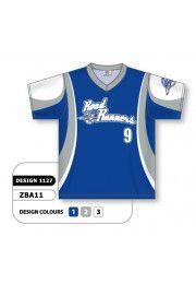 Custom Sublimated V Neck Baseball Jersey Design 1127 Jersey Jersey Design Baseball Jerseys