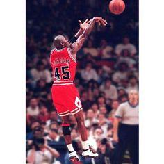 "Michael Jordan came back wearing 45 and so did his kicks. Air Jordan 10 ""Double Nickel"" - Purchase Links, now on SneakerWatch.com!"