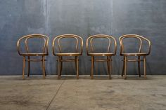 Old Bentwood and Cane NYC Cafe Chairs : Factory 20