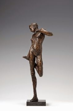 De bronzen figuren van Anita Franken zijn eigenwijs, trots, speels en vrij