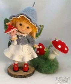 Эльфочка - Мои игрушки - Галерея - Форум почитателей амигуруми (вязаной игрушки)