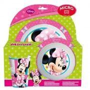 Set desayuno minnie mouse  Este artículo lo encontrará en nuestra tienda on line de complementos  Www.worldmagic.es  info@worldmagic.es  951381126