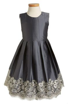 Isabel Garreton Floral Lace Pleated Dress (Toddler Girls, Little Girls & Big Girls) available at #Nordstrom