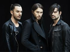 """30 Seconds to Mars have shared new music. Jared Leto has posted a small teaser video titled """"Thirty Seconds to Mars / """"Coming Drag Music, Rock Music, New Music, Jared Leto, Mtv, Thirty Seconds To Mars, 30 Seconds, Shannon Leto, Rock Bands"""