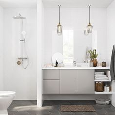 32 Best Shower Tile Ideas That Will Transform Your Bathroom - The Trending House Shower Storage, Bathroom Storage Shelves, Shower Shelves, Best Bathroom Colors, Bathroom Layout, Bathroom Interior, Bathroom Gallery, Bathroom Images, Bad Inspiration