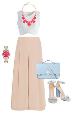 """Untitled #65"" by anisa311 on Polyvore featuring TIBI, Chicwish, Kate Spade, The Cambridge Satchel Company and Michael Kors"
