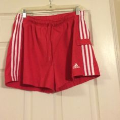 Adidas shorts Excellent condition 100 percent polyester Adidas Shorts