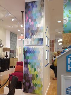 Jump into spring with splashes of color! Be bold, be you with @Sherwin-Williams  and @HGTV #lovehome