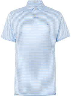 91e0d72a Peter Millar Classic Striped Cotton-Lisle Polo Shirt New Mens Fashion  Trends, Mens Golf