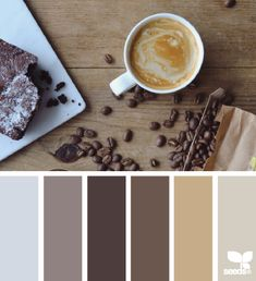 design seeds | coffee browns | for all who ♥ color