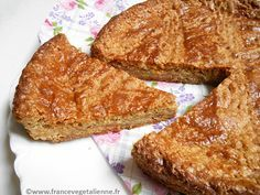 Gâteau breton végane