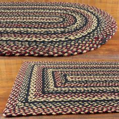 Red U0026 Cream   Red Band   Braided Rug | FLOORING U0026 RUGS | Pinterest | Red  Band, Lofts And Cabin