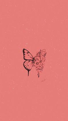 Trippy Wallpaper, Mood Wallpaper, Iphone Wallpaper Tumblr Aesthetic, Retro Wallpaper, Aesthetic Pastel Wallpaper, Aesthetic Wallpapers, Wallpaper Quotes, Butterfly Wallpaper Iphone, Iphone Background Wallpaper