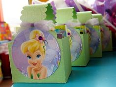 Paper Crafts by Candace: Tinkerbell Birthday Party