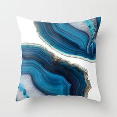 Blue Agate<br/> <br/> blue, stone, precious, rock...