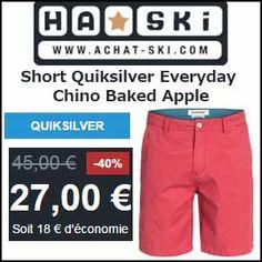 #missbonreduction; Remise de 30% sur le Short Quiksilver Everyday Chino Baked Apple en vente sur Achat-Ski.http://www.miss-bon-reduction.fr//details-bon-reduction-Achat-ski-i524288-c1838307.html