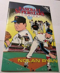 NOLAN RYAN BASEBALL SUPERSTARS COMICS NO 1 1991 ISSUE VERY FINE CONDITION